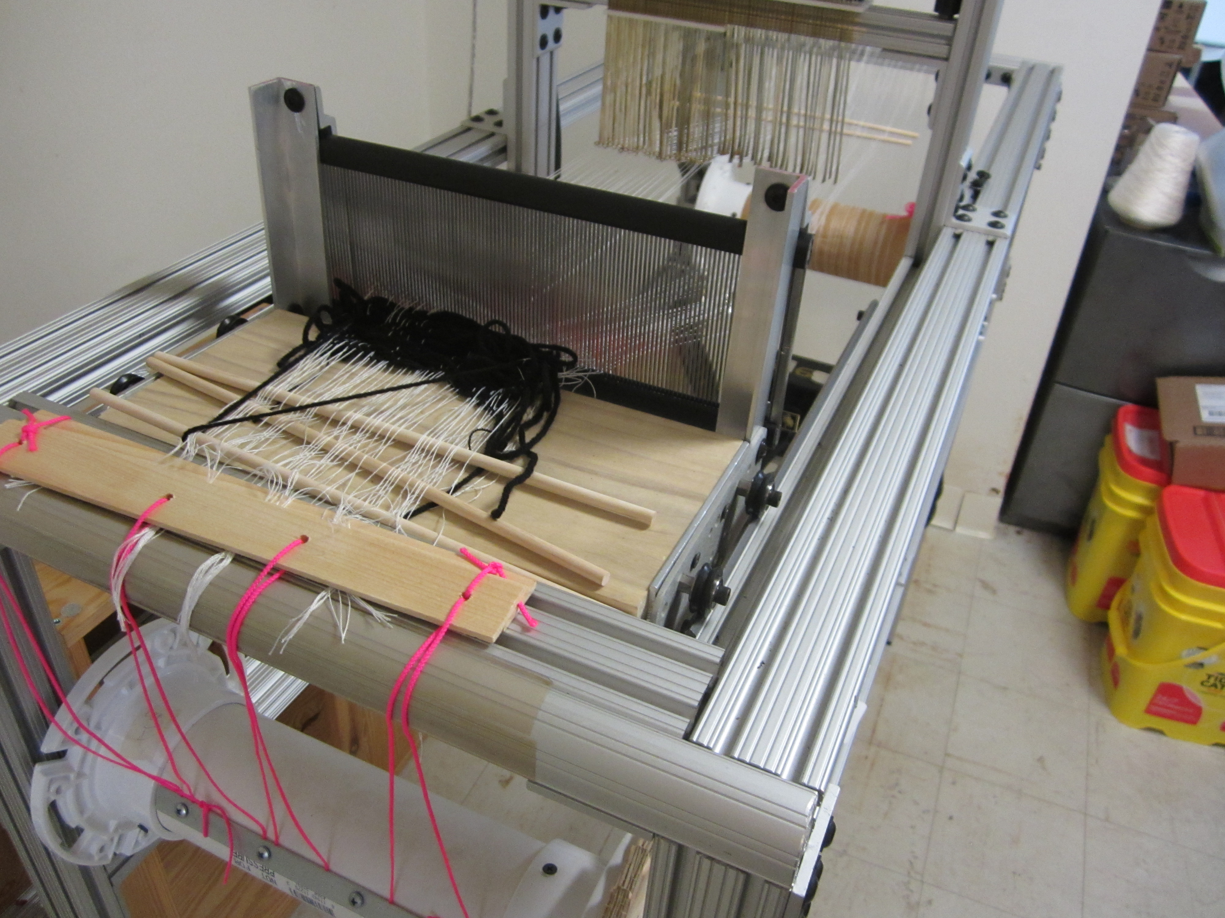 Open Source Jacquard Loom Project